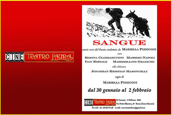 Biglietti - SANGUE - CineTeatro L'Aura - Roma