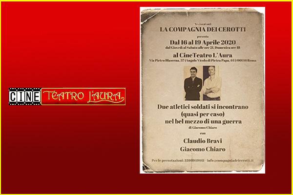 Biglietti - Due atletici soldati - CineTeatro L'Aura - Roma