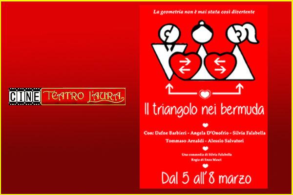 Biglietti - Il triangolo nei bermuda - CineTeatro L'Aura - Roma