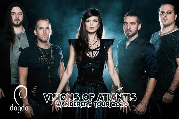 Biglietti - Vision of Atlantis - Wanders Tour 2020 - Dagda Live Club - Retorbido (PV)