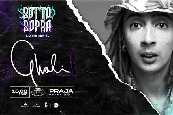 Biglietti - Ghali - Sottosopra Fest - Praja - Gallipoli