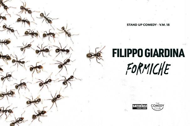 Biglietti Filippo Giardina - Formiche - Snodo Mandrione Roma
