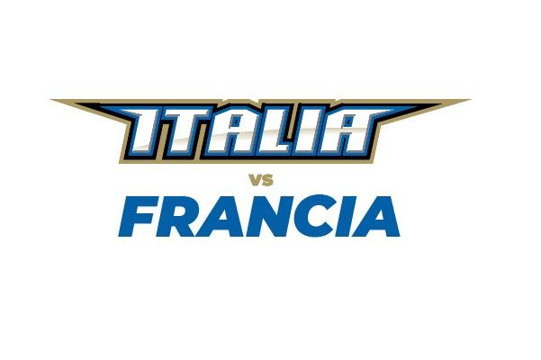 ITALIA VS FRANCIA - Semifinale Campionato Europeo Gruppo A - Piacenza Biglietti