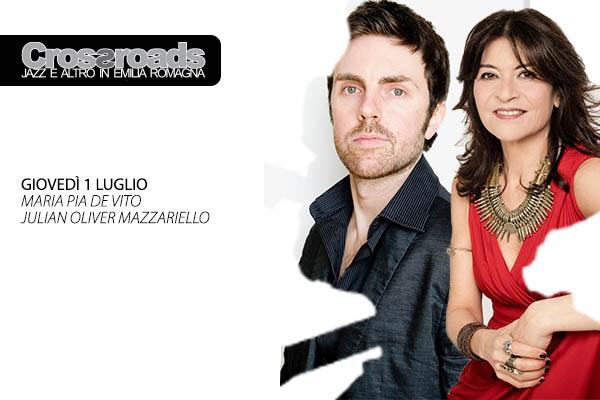 Maria Pia De Vito e Julian Oliver Mazzariello - La Tenda Modena Biglietti