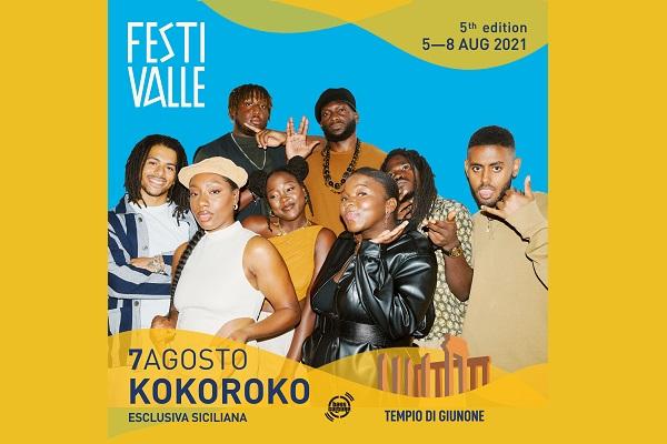 Festivalle 2021 - Day Three - Kokoroko - Tempio di Giunone Agrigento Biglietti