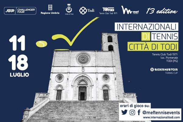 Internazionali di Tennis Citta' di Todi - Sidernestor Tennis Cup