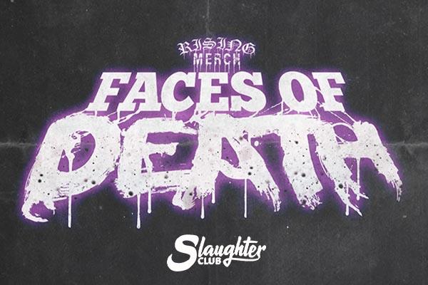 Rising Merch Faces Of Death