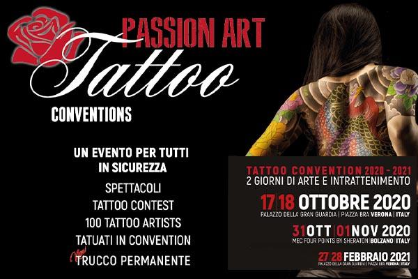 Passion Art Tattoo Convention Verona