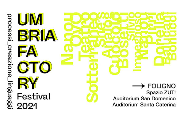 UFF 21   Umbria Factory Festival 2021